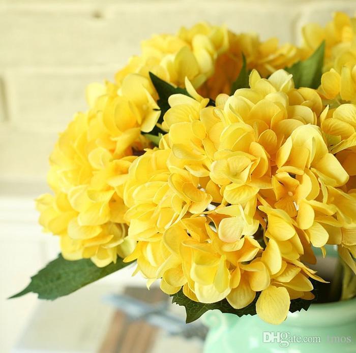 DHL TNT frei Kunstseide Hydrangea Big Flower 7,5