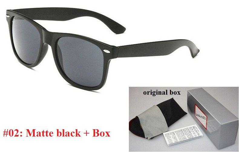 Hochwertige Marken-Designer-Mode Sonnenbrillen Männer UV400 Schutz im Freien Sport Vintage-Sonnenbrillen Frauen Retro Brillen mit Kasten und Koffer