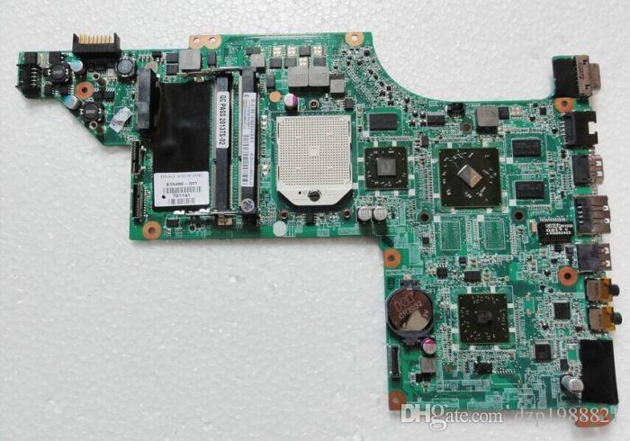 Доска 615686-001 для материнской платы ноутбука HP pavilion DV7 DV7-4000 с чипсетом AMD DDR3 и графической памятью 5470/512 м