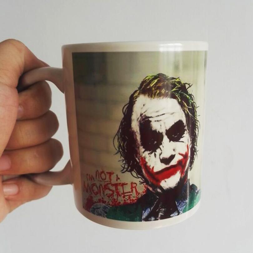 newest design joker magic color changing coffee mug heat sensitive tea cup printing with why so serious cups and mugs cups and mugs online from keepcooler