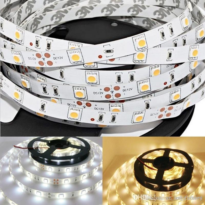 12 Volt 5050 Smd Led Flexible Strips Lighting 5m Roll Warm Pure White Red Blue Led Ribbon Non Waterproof 150leds Led Tape Light Outdoor Led Lighting Strips ... & 12 Volt 5050 Smd Led Flexible Strips Lighting 5m Roll Warm Pure ...