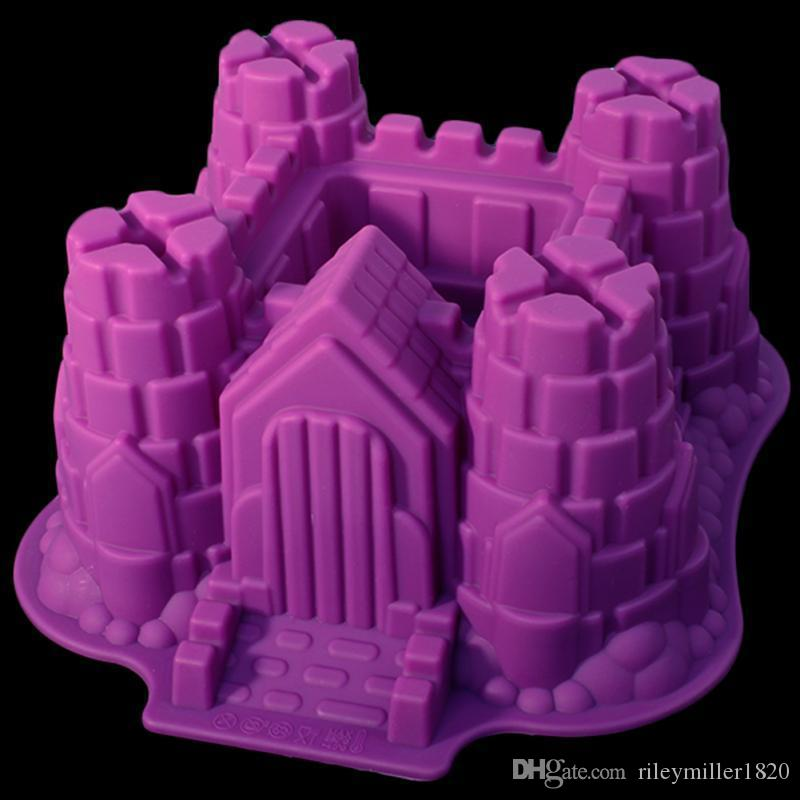 online cheap cake mold castle shape purple colored cookie mold manual work on sale 2016 by rileymiller1820 dhgatecom - Purple Castle 2016