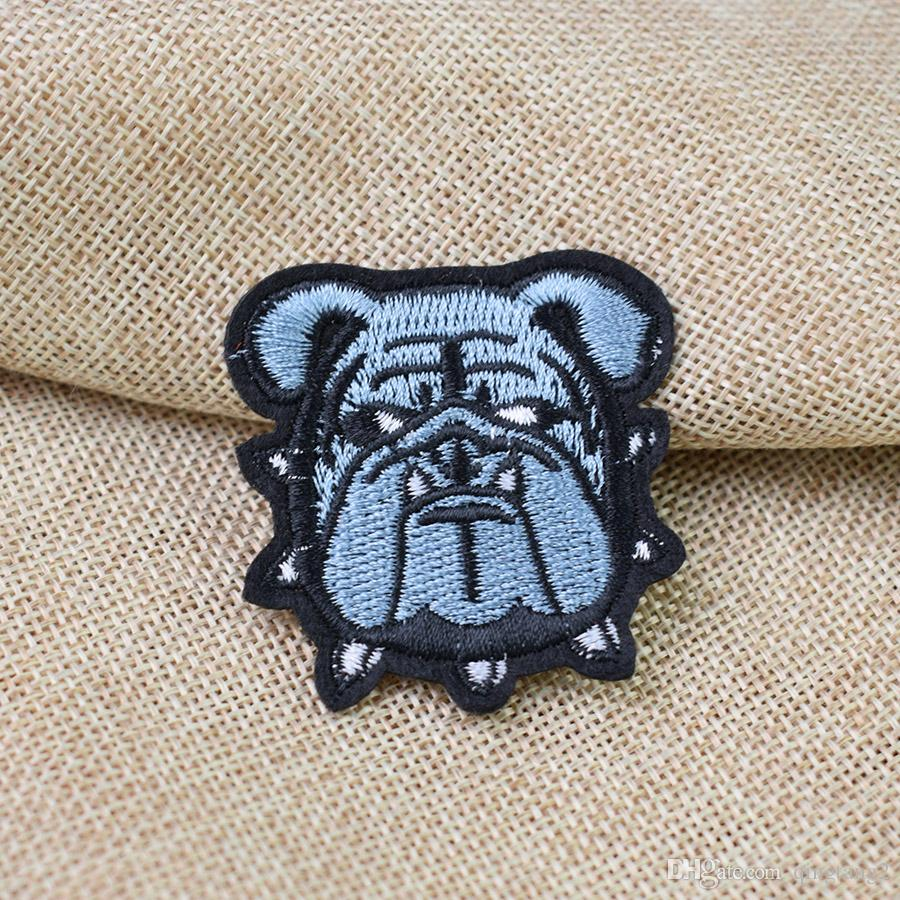 dog patches for clothing iron embroidery patch for clothes applique sewing accessories stickers badge on clothes iron on patches DIY