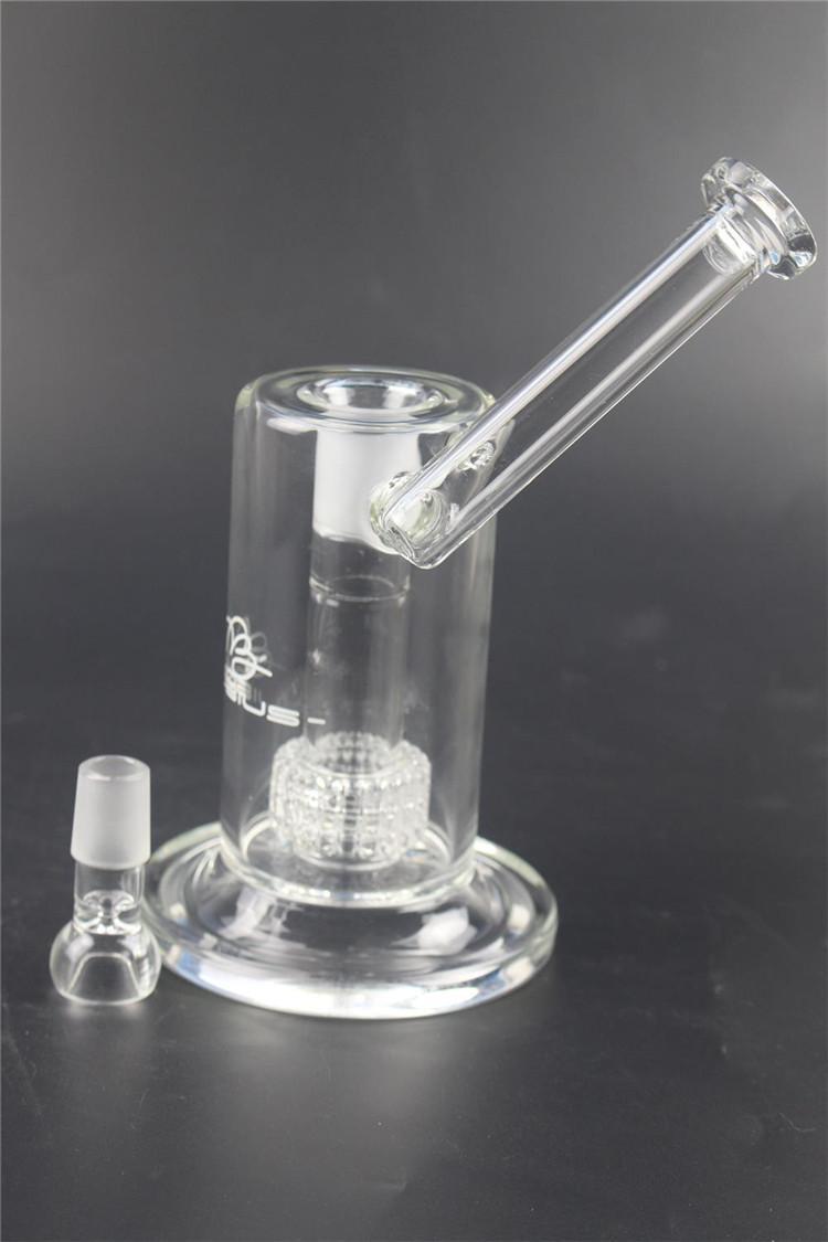 22cm hohe Matrix Sidecar Glas Bong Vogelkäfig perc Oil Rig dick Rauchen Wasserrohr Joint Größe 18.8mm Kostenloser Versand