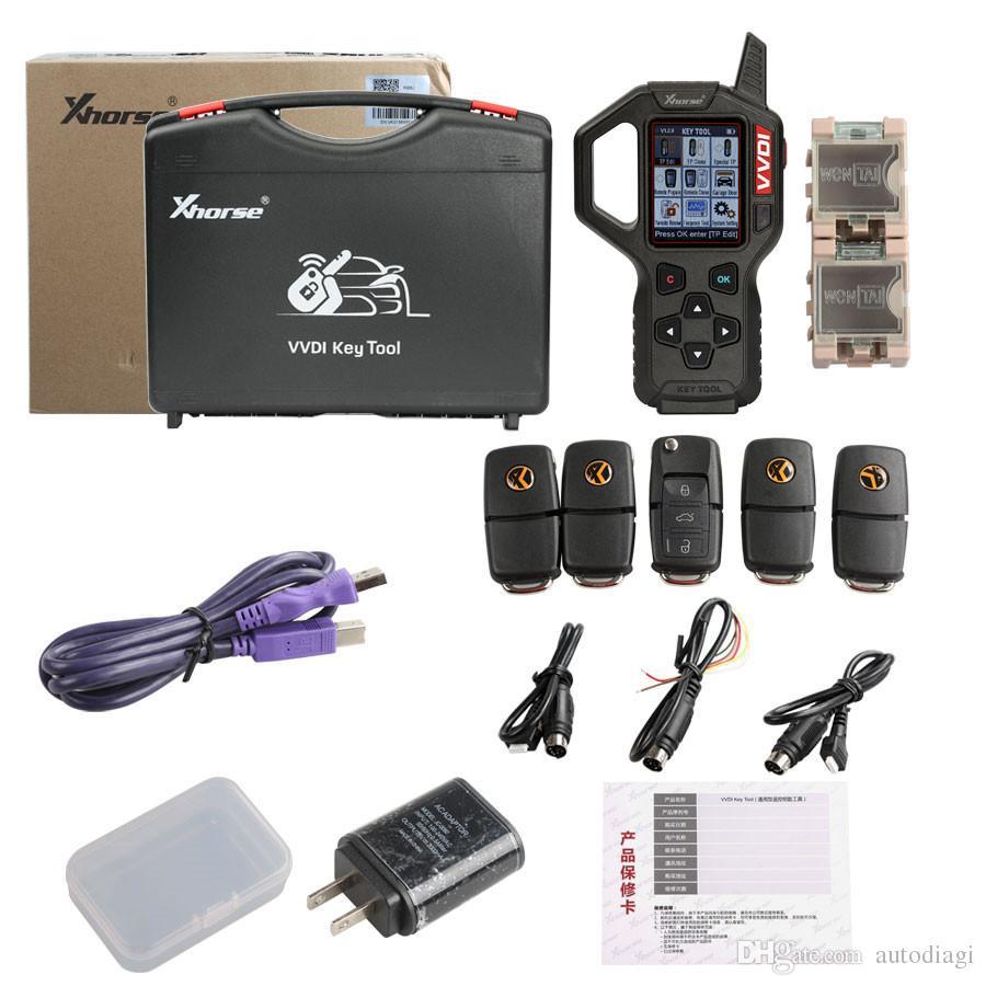 Original V2.3.9 Xhorse VVDI Key Tool Remote Key Programmer Specially for America Cars by DHL