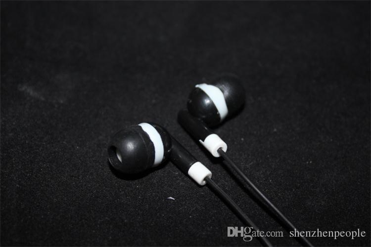 3.5mm In ear headphones earphone earbud headset headphone for PC Laptop MP3 MP4 DHL FEDEX free DY