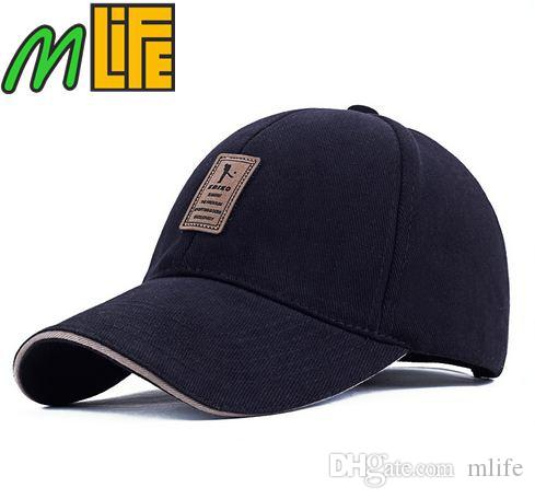 Compre 2016 Gorra De Béisbol De Algodón Deportes Golf Snapback Sombreros  Sólidos Simples Al Aire Libre Para Hombres Gorras De Hueso Casquette Chapeu  Gorra ... 0037b28c343