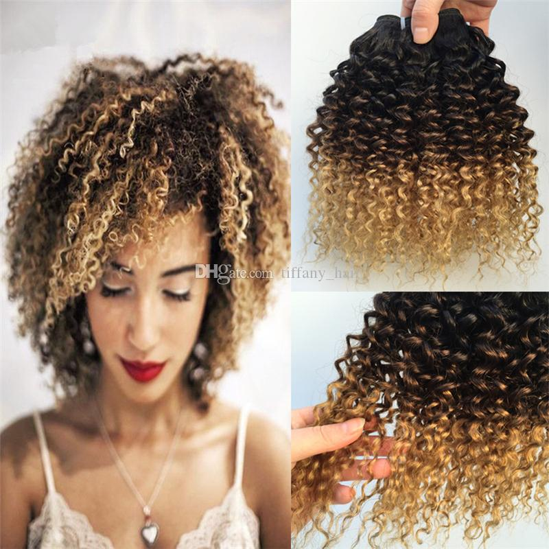 Cheap ombre hair extensions 8a malaysian hair 3 bundles t1b427 cheap ombre hair extensions 8a malaysian hair 3 bundles t1b427 honey blonde malaysian kinky curly ombre human hair weave extensions natural hair weave pmusecretfo Image collections