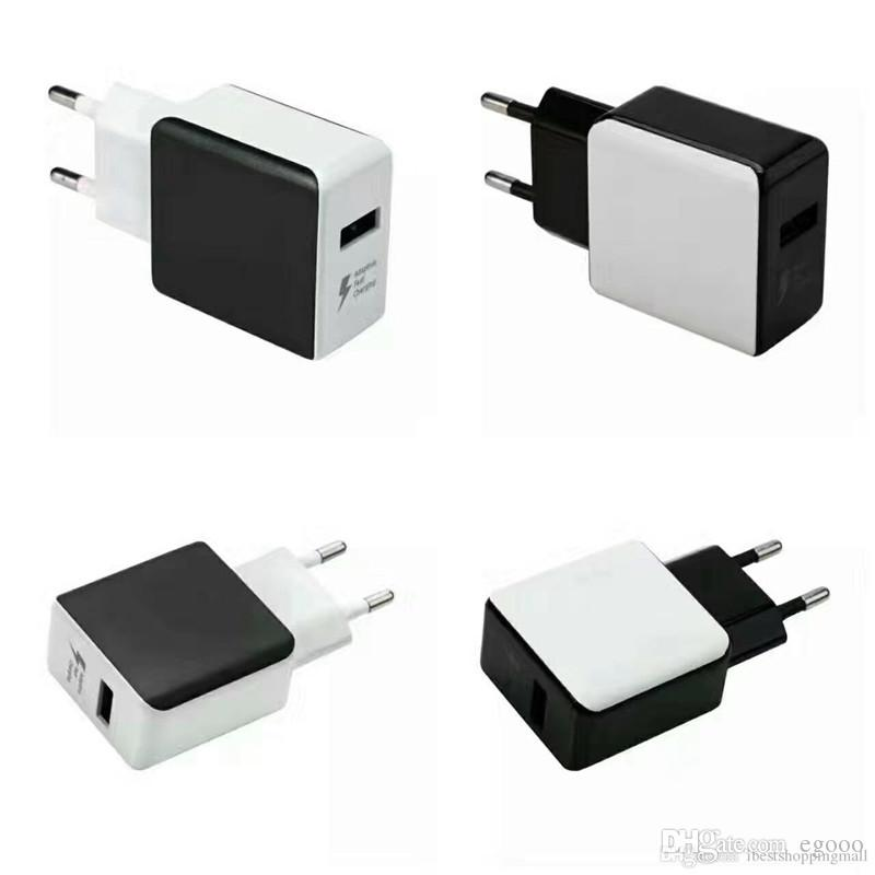 Top Qualtiy Qc 2 0 Adaptive Fast Charging Travel Wall Charger Cable Usb Cable For Samsung Galaxy S6 Edge Plus Note  Phone Charger Usb Adapter Usb