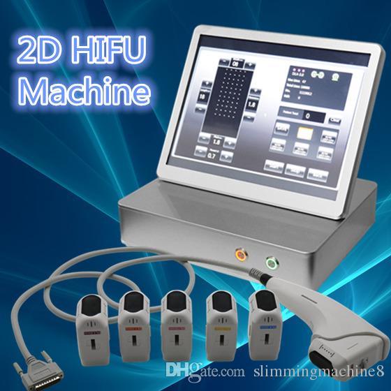 2D hifu home use facial machine Anti-Aging Wrinkle Removal face lifting  hifu Best selling portable 2d hifu machine