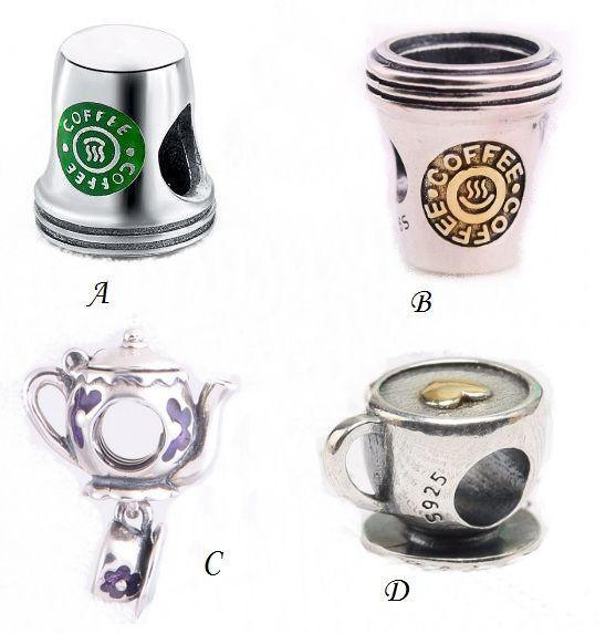 abalorio pandora taza