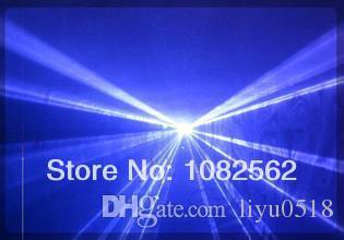 450nm Animation 1W einfarbig Blau ILDA Indoor DJ Disco Software Steuerung Laserlicht Show System