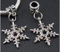 100 UNIDS plata tibetana colgante de los colgantes de los colgantes de los círculos de tibetano pulsera europea apta