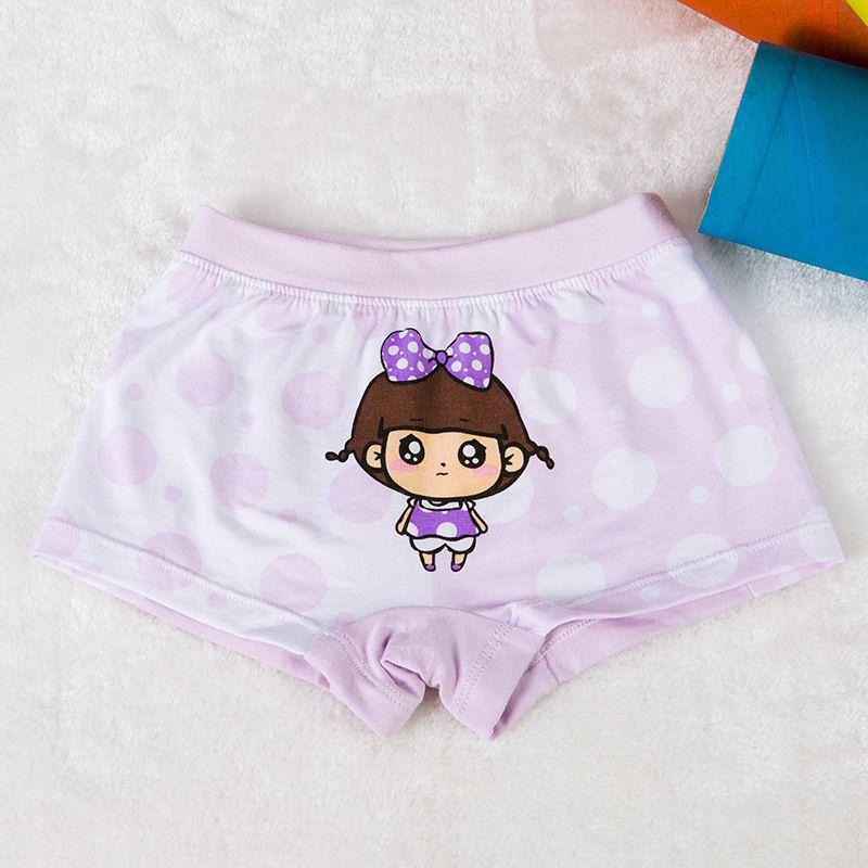 8c19cdb09 Cartoon Animal Children Underpants Girl Short Pants Baby Child Four ...