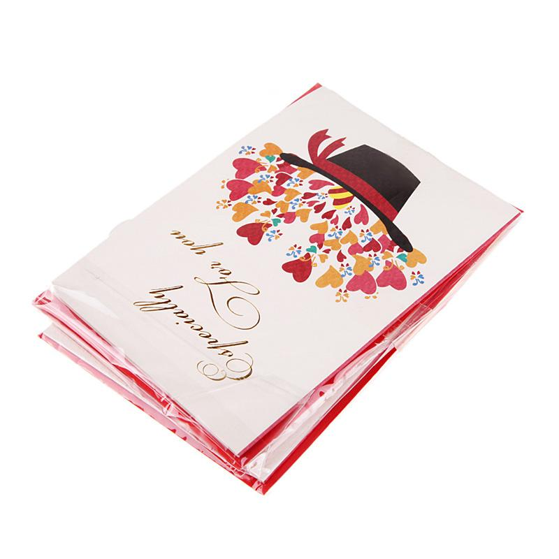 Dimensional Folding Greeting Cards Blessings Universal Handmade Christmas Birthday TeacherS Day MothersCards E5M1 Order18no Track Musical