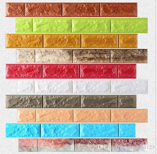 diy faux brick wall panel home decoration enhance for home decor faux brick wall panels for kid house sticker on the wall sticker on wall from yaojinyi123