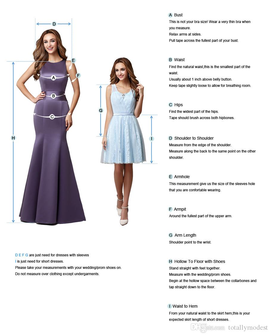 A-line Tea Length Lace Chiffon Short Wedding Dresses With Long Sleeves Jewel Neck Zipper Back Informal Modest Little White Bride Dress