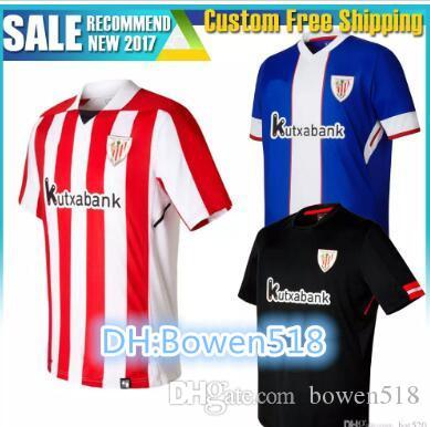2018 2017 2018 Athletic Bilbao Home Soccer Jersey 17 18 Susaeta Gurpegui  Aduriz Muniain Williams Muniain Away Shirt Best Thai Quality From Bowen518 c6600ee0377bb