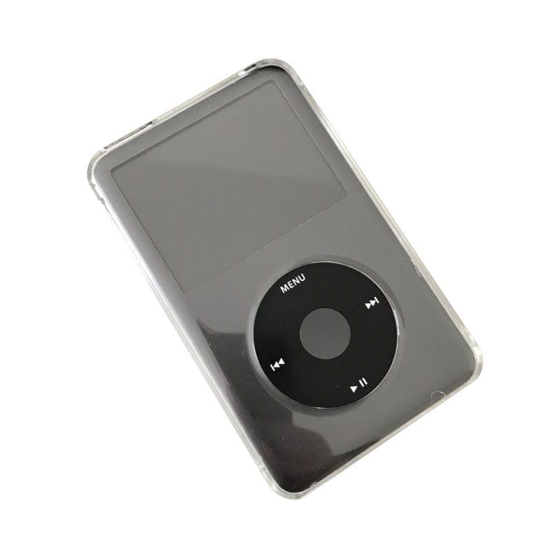 Ultra fino cristal transparente pc hard case capa para apple ipod classic 6th 80gb 120gb 7th 160gb casos shell fundas protetor de corpo inteiro