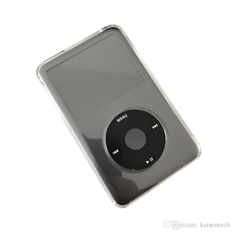 Ultra Thin Crystal Transparent PC Hard Case para Apple iPod Classic 6th 80GB 120GB 7th 160GB casos funda protectora de cuerpo completo