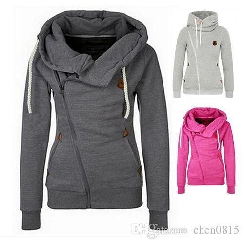 Women's jacket zipper side
