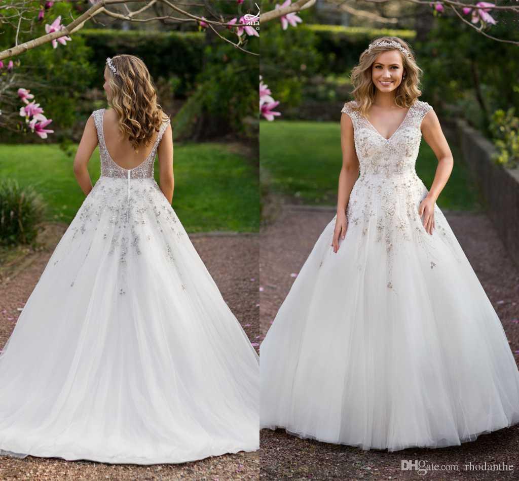 Discount 2017 Boho Garden Summer French Style Wedding Dresses ...