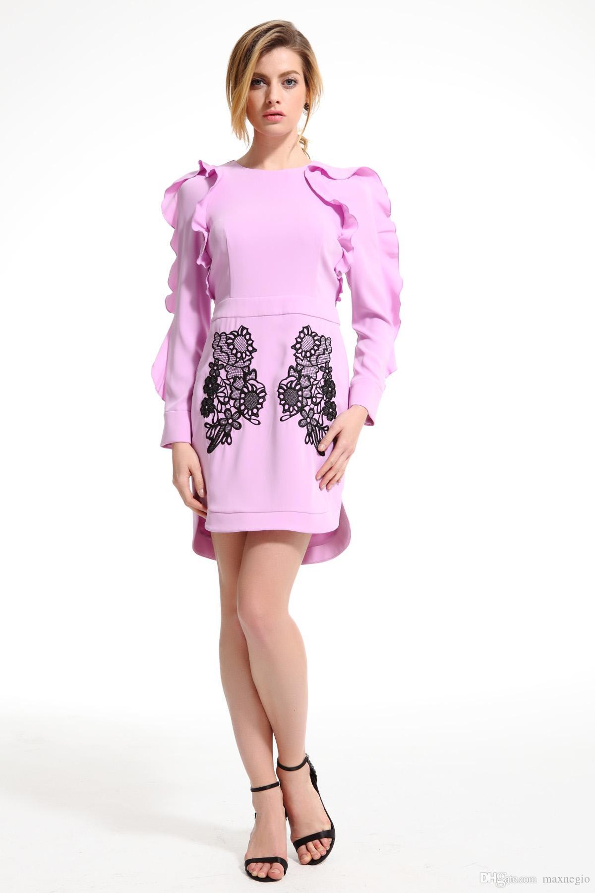 Compre Maxnegio Moda Marca Ropa De Las Mujeres Nombre De Vestidos De ...