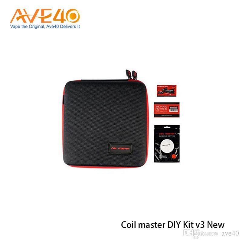Il nuovo kit di attrezzi Kit V3 fai da te di Coil Master nuovo strumento V3 aggiornato con 521 Mini Tab II Vape 100% originale