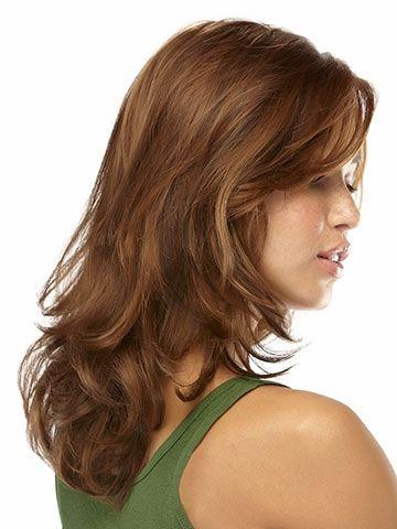 Fashion Sexy Medium Long Curly Wavy Cosplay Full Wig Women Wigs Hair Wig Girl Gift HB88