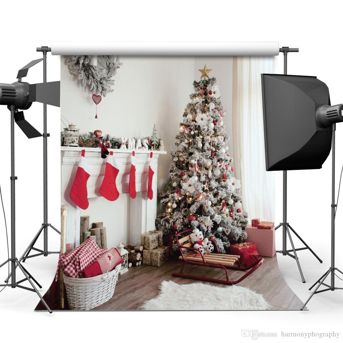Christmas 5X7ft camera fotografica backdrops vinyl cloth photography backgrounds wedding children baby backdrop for photo studio 10294