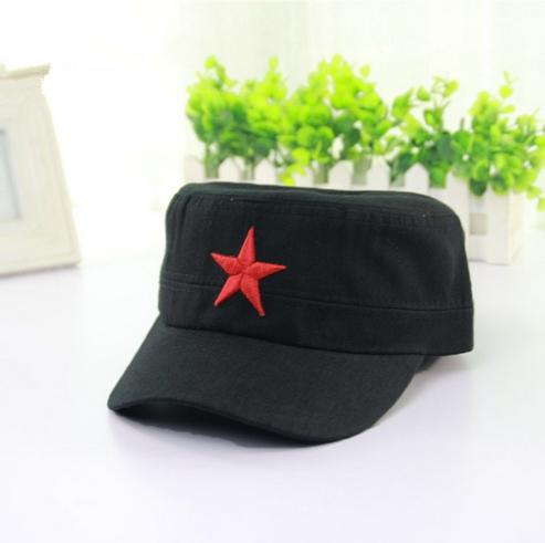 Designer Cotton Military Hats With Red Star Adjustable Strapback Mens  Womens Vintage Army Cap Cadet Military Patrol Hats Navy Black Green