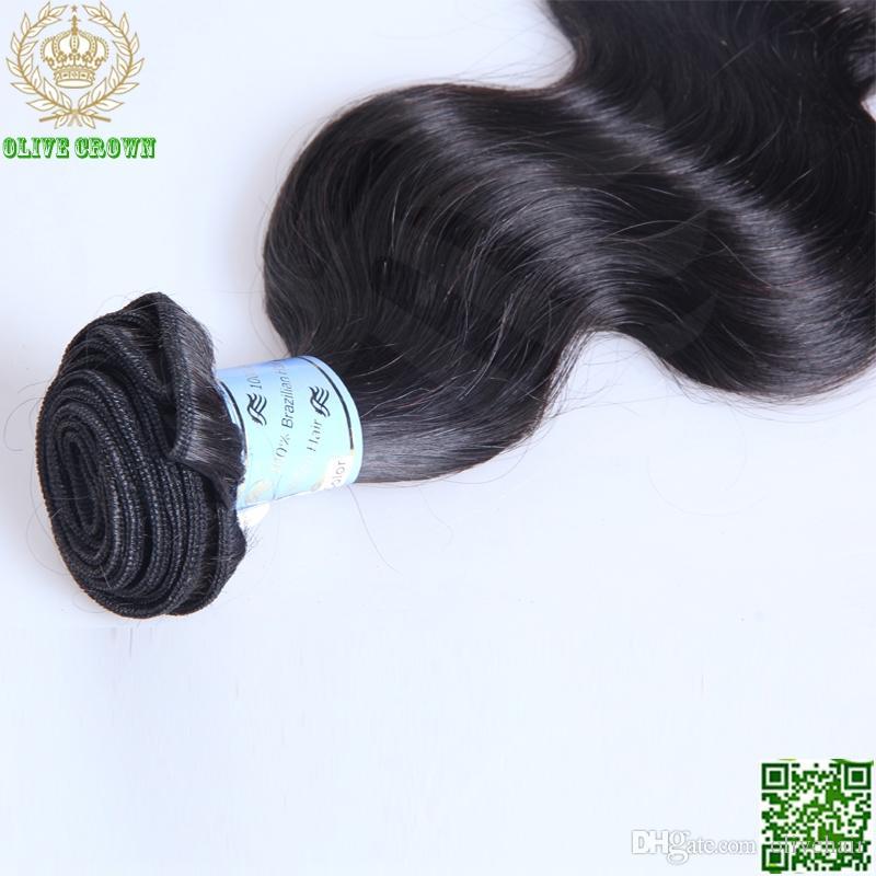 Peruvian Virgin Hair Body Wave 3 Bundles Human Hair Weave Unprocessed Hair Weft Grade 6A Remy Hair Extension Bundles In Stock