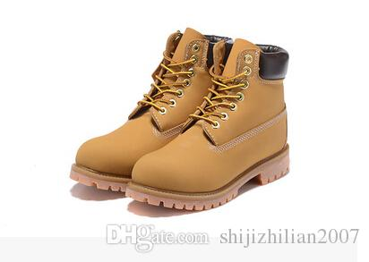 popular cheap online 100% original cheap online 2018 Fashion Classic 10061 Wheat Yellow TBL Boots Women Mens Retro Waterproof Outdoor Work Sports Shoes Casual Sneakers Size 34-47 Ac4BlRB