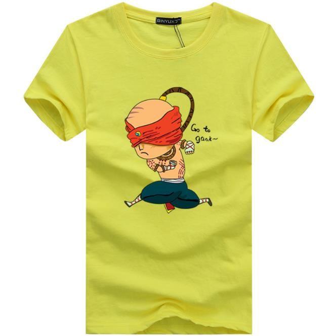 New Man T-shirt manica corta girocollo Moda Marry Man t-shirt Top Quality Novità maschio Tee Shirts stile europeo economico