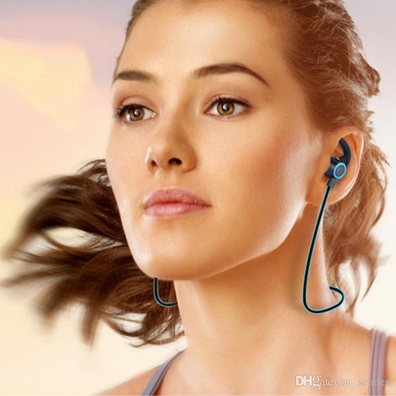 nuevos AMW-810 Auriculares inalámbricos Bluetooth AMW810 con micrófono Auriculares estéreo coloridos Soporte de reducción de ruido Manos libres Música Deporte Auriculares