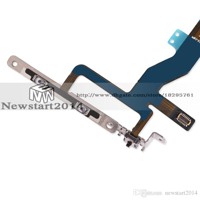 Replacement For iPhone 6S 4.7 Power On Off Flex & Volume Button Switch Flex Cable Parts