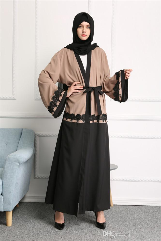2018 New Design Clothing Women Muslim Dress Dubai Abaya