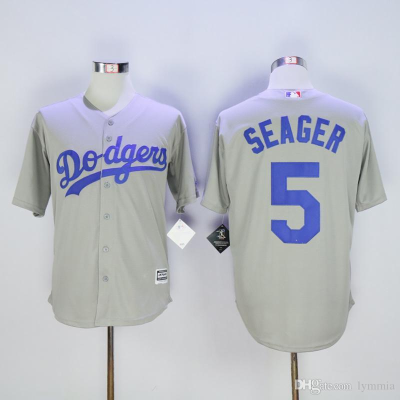 e0636259b ... All 2017 2016 5 Corey Seager Jersey Los Angeles Dodgers Mlb Baseball  Jersey 61 Beclett 23 Gonzalez ...
