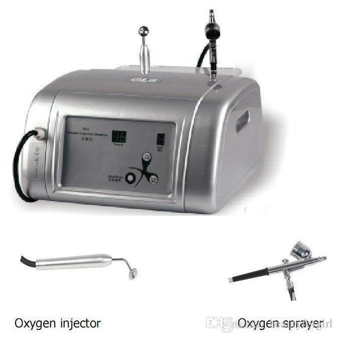 Haute qualité Portable Mini oxygène Jet spray visage Peel Jet d'eau Rajeunissement de la peau Hydra oxygène Machine visage