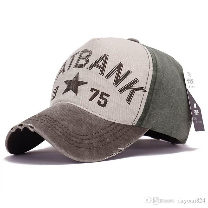 c4b7d46f34a Women Men Fashion Cotton Vintage Adjustable Baseball Cap Snapback ...
