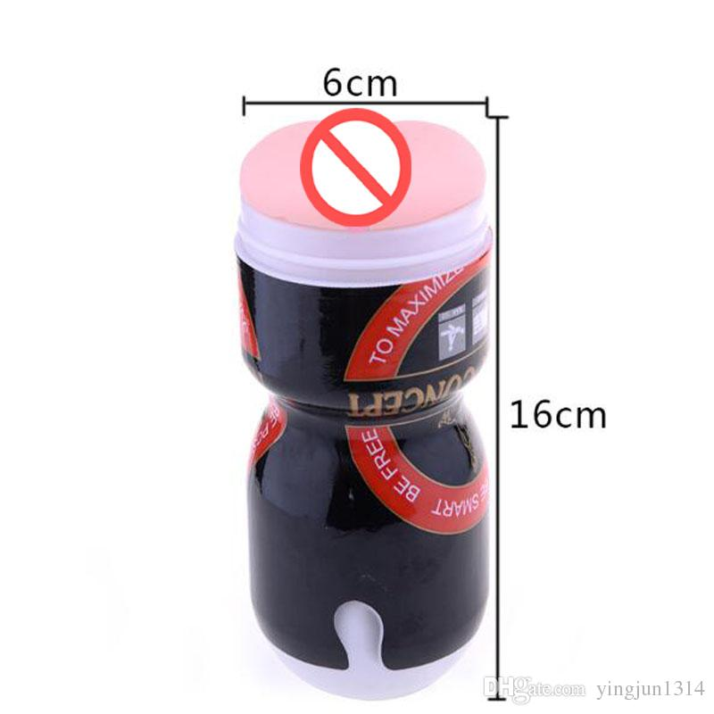Soft Silicone Pocket toys aircraft cup male masturbator sex toys for men fake pussy anal silica artificial vagina