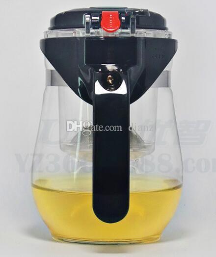 Arbeiten Sie heißes 500ml hitzebeständiges Glasteetopf-Blumen-Tee-Satz Puer-Kessel Kaffee-Teekanne um
