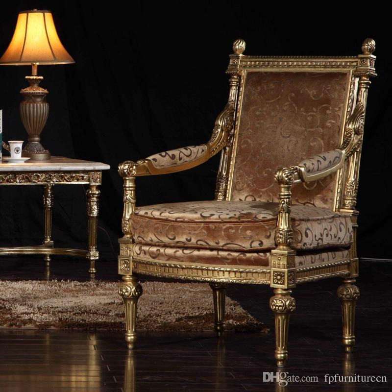 2019 French Classic Furniture Manufacturer Living Room Classic