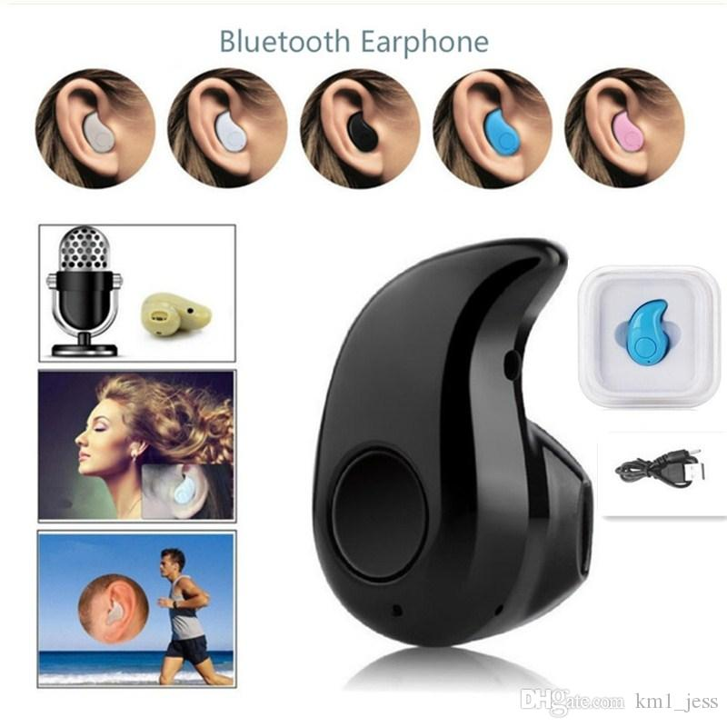 aab071778b6 Universal Mini Wireless Bluetooth Headphone S530 In Ear V4.0 Stealth  Earphone Phone Headset With Mic Handfree For IPhone Samsung Cell Phone  Wireless Cell ...