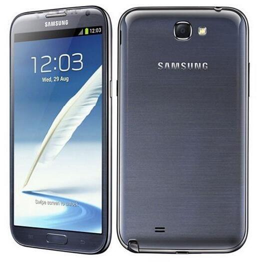 Original Samsung Galaxy Note 2 N7105 Quad Núcleo 2GB RAM 16GB ROM 4G 3G 2G Remodelado Descanido Telefone Celular