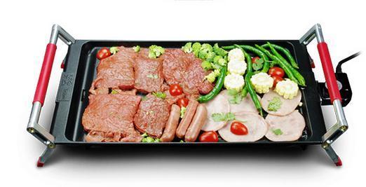 50cm ménage barbecue barbecue cuisson de cuisson en aluminium barbecue barbecue grillades électrique 220V 1800W four électrique 004