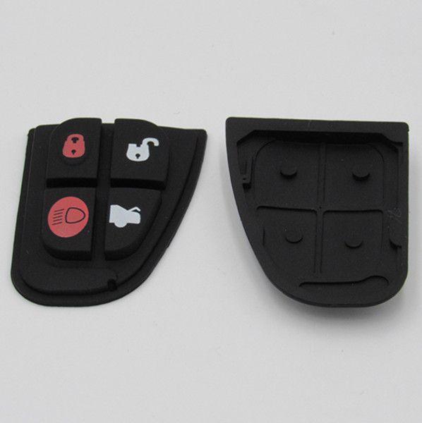 Car key button remote key pad for Jagur 4 button key pad rubber