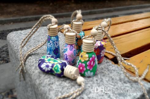 15 ml-Autofalldekoration Keramik Plastiklehmpuppe Essenz Öl Parfüm-Flasche leere Flasche des Falseils