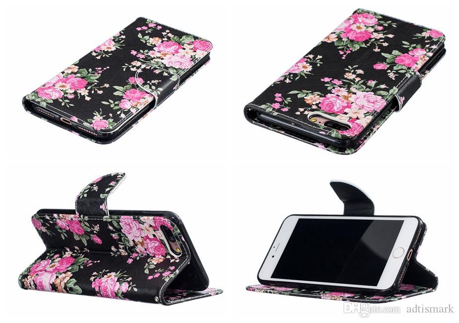 Для iPhone 8 7 6 6 S Plus 5 5 5s SE Case Cover флип роскошные карты бумажник новое прибытие новые обложка для iPhone 7 Plus Case