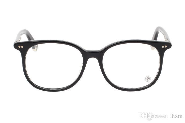 Vente chaude Marque Design Plaine Lunettes Hommes Femmes Lunettes Cadre Computer Glasse Optique Lunettes oculos de grau MOTHE RFUNGIS 52mm avec étui
